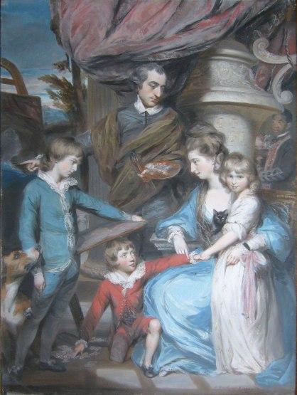 Gardner Sir William East fam 1774